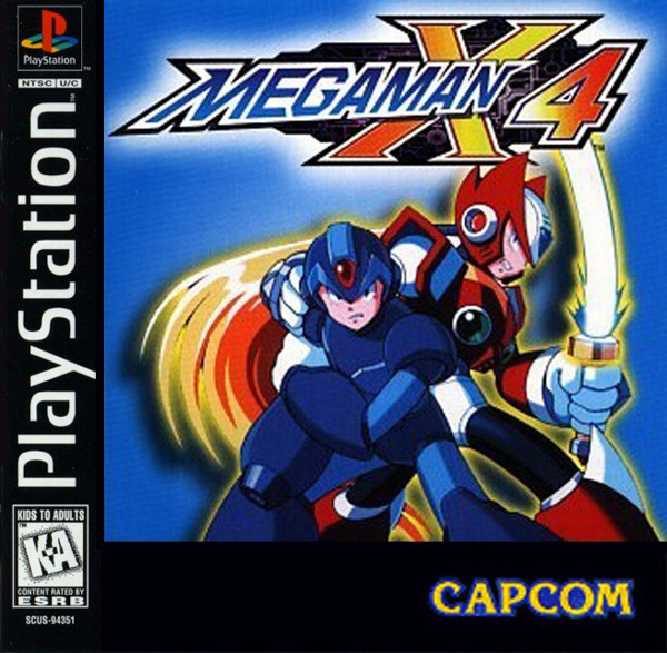 MegaMan X4 Front Cover